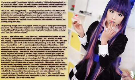Ainie Two Way Cake By All In Shop of cake an aiko story by zoliborz on deviantart