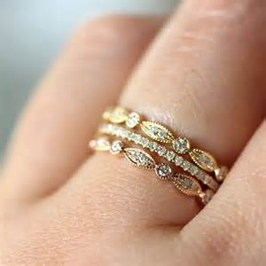 stacked eternity wedding bands trend stacked wedding ring s say yes events