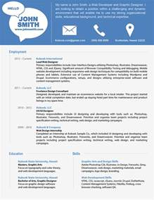 Resume Sample Modern by Modern Resume Template Latest Information