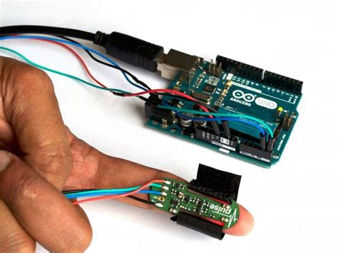 code arduino pulse sensor using the max30100 wearable pulse sensor with arduino