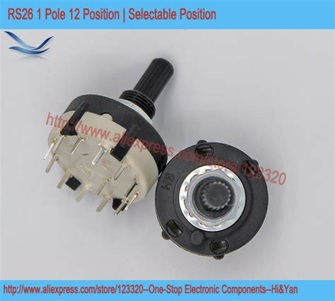Fujitsu Rotary Switch 3 Pole 26 Step Silver Plated Contact Nos 2 Pcs buy wholesale automatic audio selector from china automatic audio selector wholesalers