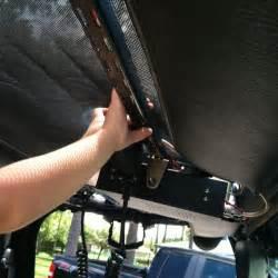 jeep wrangler overhead install cb radio overhead mount for jeep tj wrangler