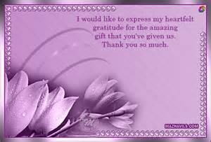 heartfelt thank you quotes quotesgram