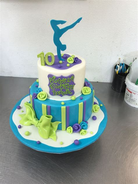 Themed Birthday Cakes Alberton | gymnastics themed birthday cake birthday cakes