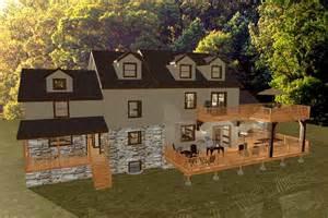 Rear Patio Designs 3d Renderings Front Porch Study