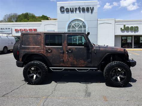 Jeep Wrangler Wraps Courtesy Motor Sales Jeep Wrangler Rust Wrap Wrapfolio