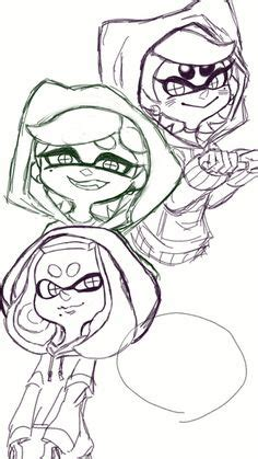 splatoon inkling coloring pages   love pinterest