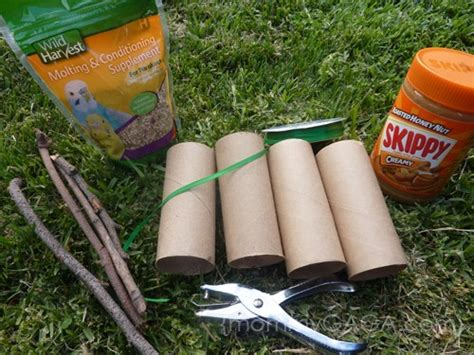 bird feeder craft for how to make a toilet paper roll bird feeder craft honey