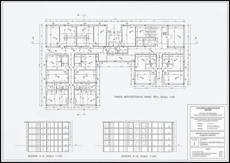tavola strutturale disegni progetto cemento armato