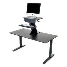 Convert Cubicle To Standing Desk by Height Adjustable Standing Desk For Cubicles Varidesk