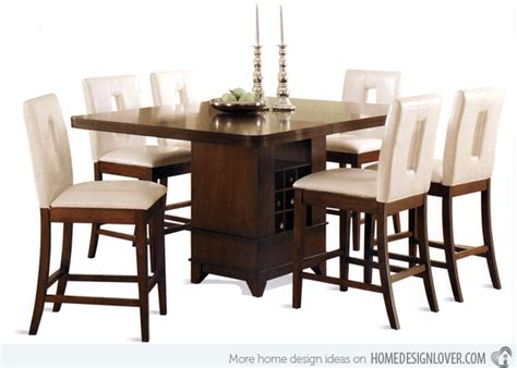 Rectangle Dining Room Sets 15 Counter Height Dining Sets