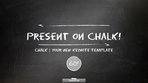 Chalk Business And Sports Keynote Template By Luca8link Graphicriver Chalkboard Powerpoint Templates