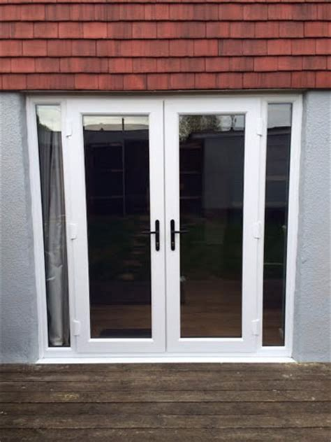 exterior doors with side panels white doors with side panels