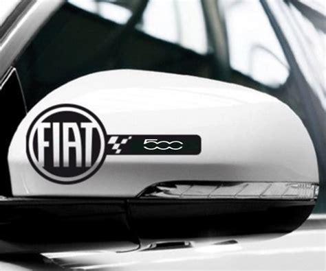 Fiat 500 Logo Sticker