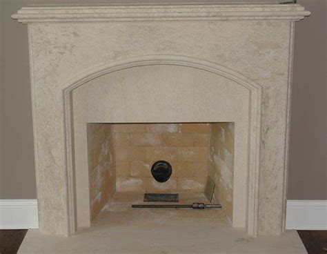 faux limestone fireplace mantels search