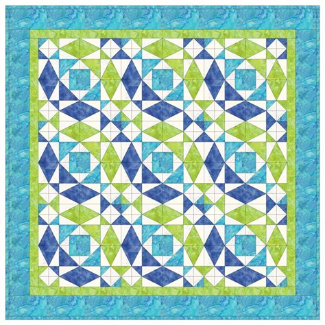 go storm at sea quilt pattern