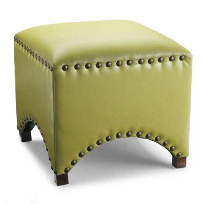 grandin road ottoman zentique scalloped stool copy cat chic