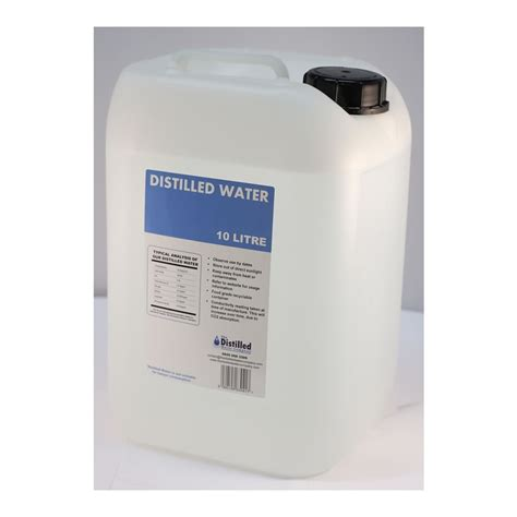 Distilled Water Shelf by 10 Litre Distilled Water Container The Distilled Water
