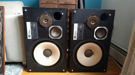 Speaker Jbl Usa jbl l100 century speakers quot pair quot made in usa with reverb