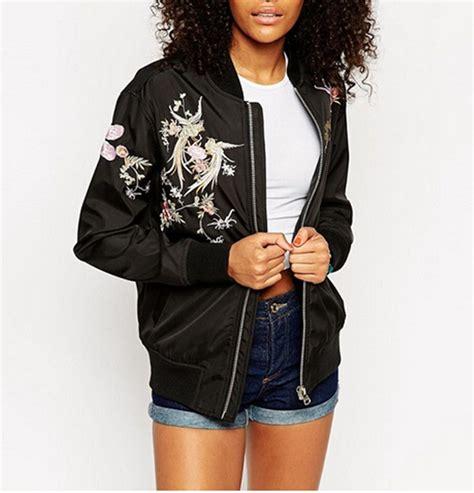 Embroidered Baseball Jacket embroidered baseball jackets deathless vogue