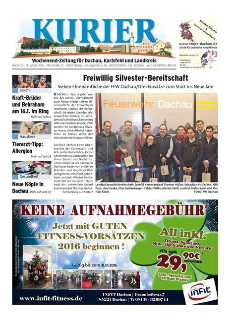 hauser dachau kw 01 2016 by wochenanzeiger medien gmbh page 1 issuu