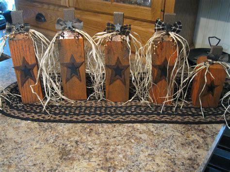 primitive crafts to make primitive pumpkins 2x4 other wood crafts