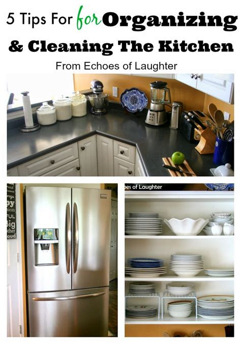 9 practical kitchen cleaning tips from a busy mom 5 tips for deep cleaning organizing the kitchen echoes