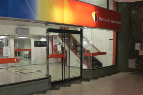bancos de venezuela banco de venezuela l 237 a su red de oficinas comerciales