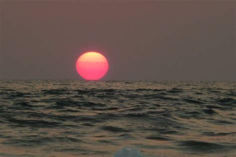 le coucher de soleil photo