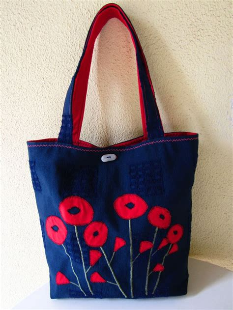 Handmade Fabric Tote Bags - 48 best handmade bags and purses images on