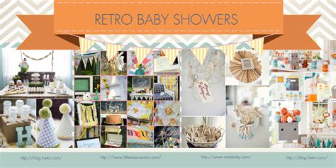 retro baby shower decorations simplicity baby shower trends for 2013