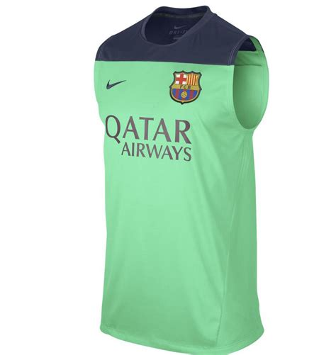 Jersey Liga Eropa Barcelona Dryfit 2013 14 barcelona sleeveless jersey green 1311251131 usd 29 99 cheap soccer jerseys shop