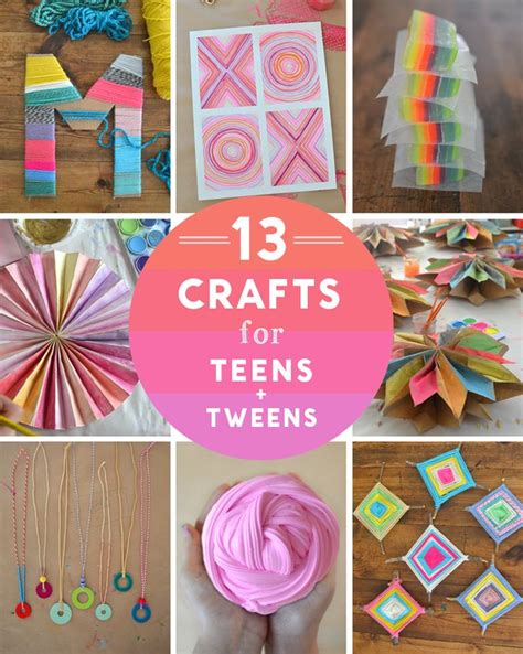 craft projects for tweens 25 b 228 sta yarn painting id 233 erna p 229