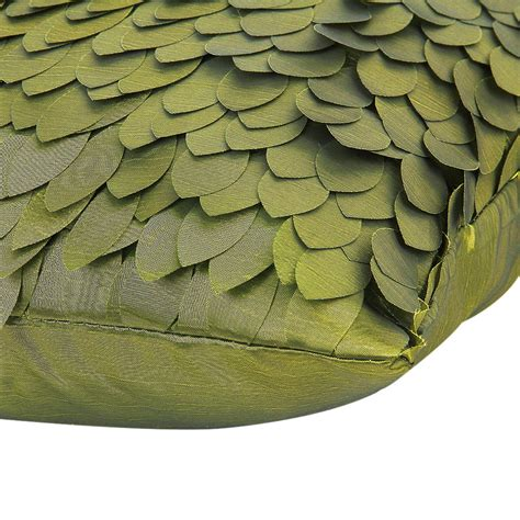 leaf pattern sofa w6 leaf pattern satin pillow cover for sofa cushion car