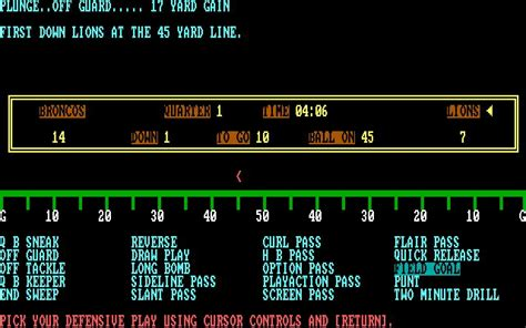 armchair quaterback armchair quarterback download 1985 sports game