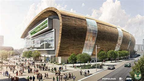 Milwaukee Bucks Release New Arena Renderings POPULOUS