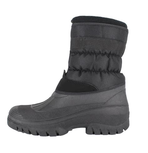 mens snow boots size 7 mens groundwork muckers mukker stable winter snow boots uk