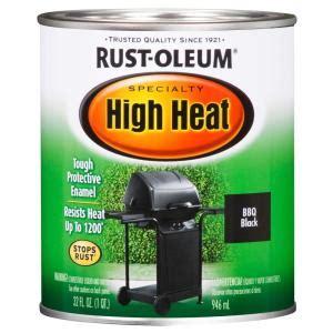 Temp Blinds Rust Oleum Specialty 1 Qt Bar B Que Black Satin High Heat