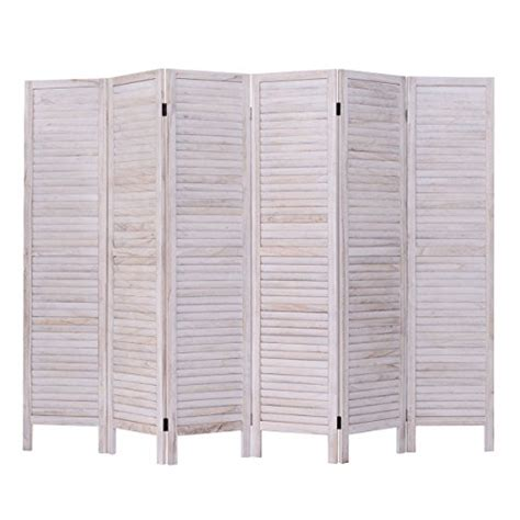 Venetian Room Divider Giantex 6 Panel Room Divider Furniture Classic Venetian Wooden Slat Ho