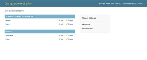 django test create test database for alias setting up the django admin site and connecting apps in