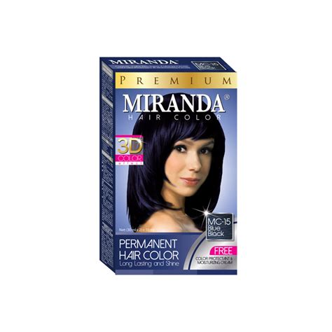 Miranda Hair Color 30ml Kecil miranda hair color blue black 30ml official store