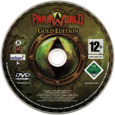 Magic Disc paraworld gold edition 2007 windows box cover mobygames
