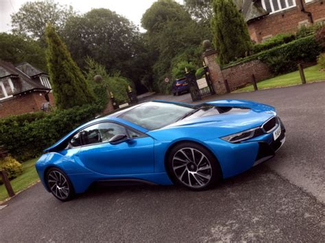bmw supercar blue bmw i8 electric blue new cars gallery