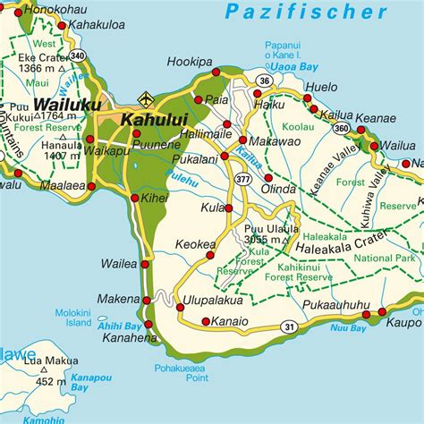 printable road map maui hawaii popular 178 list maui map