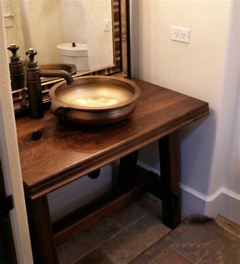 bathroom wood countertop 20 bathrooms with wooden countertops