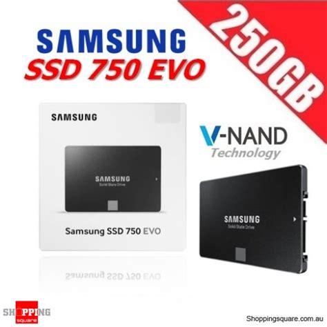 samsung ssd 250gb evo 750 hitam samsung 750 evo 250gb 2 5 inch ssd sata iii 6gb s solid
