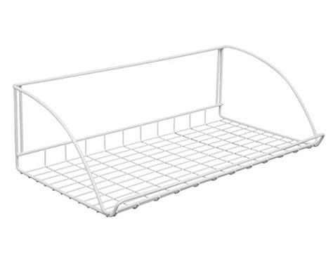 Closetmaid 24 Inch Wire Shelf Closetmaid 8279 24 Inch Wide Laundry Utility Hanger Shelf