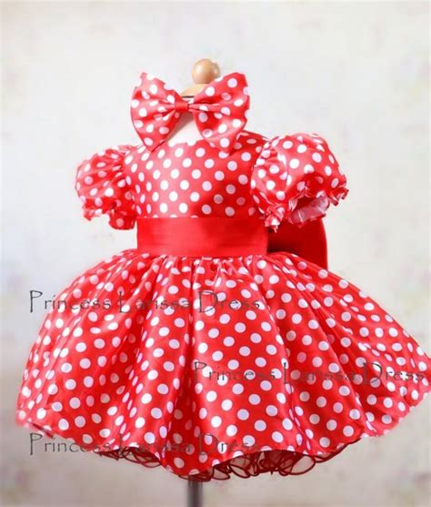 Handmade Minnie Mouse Dress - new design minnie mouse mickey inspired costume