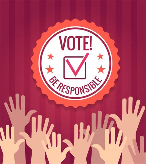 election background elections background with vector premium