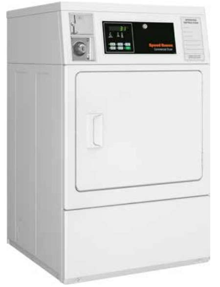 Dryer Gas Speedqueen Ldl3trww301nw speed white commercial gas dryer sdgncags113tw01